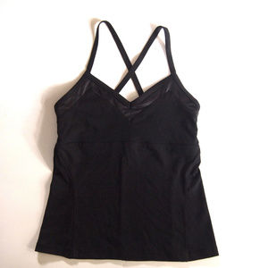Alo Yoga Strappy Bra Tank Black M